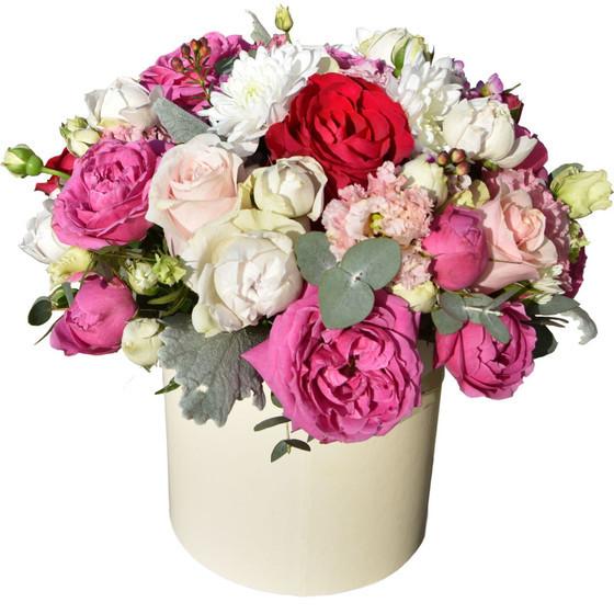 """коробочка с цветами"""" Нежный поцелуй"""""""