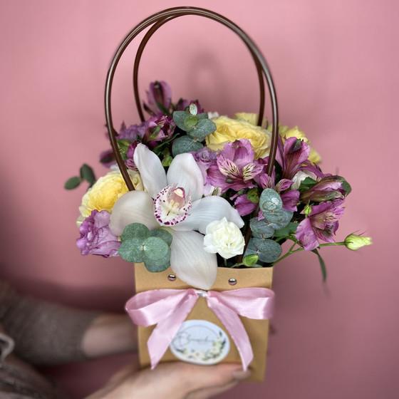 Крафтовая сумочка