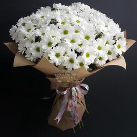 Букет Ромашковой хризантемы 9 штук
