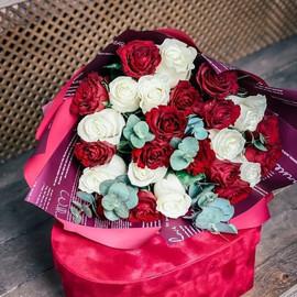 Букет из роз Яркое настроение