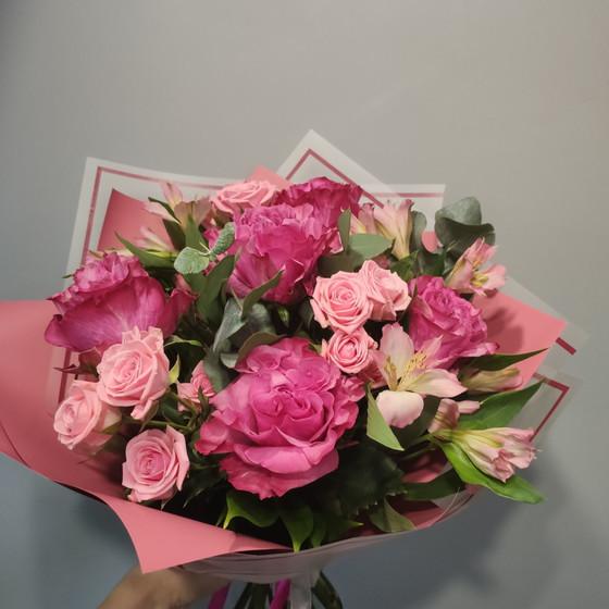 розовый микс