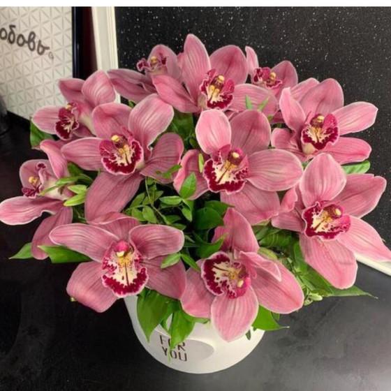 Цветы в коробке «Орхидея для принцессы»