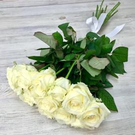 Роза Аваланж 60 см 11 шт. в крафте