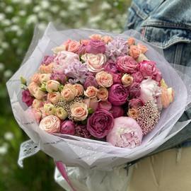 Букет «Розовая нежность»