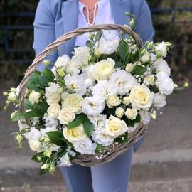 Корзина «Свадебные цветы»
