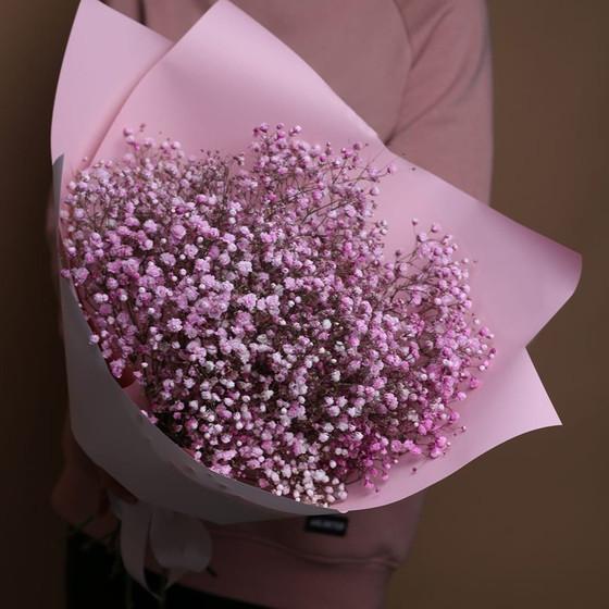 Букет из 5 розовых гипсофил