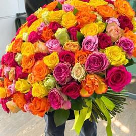 Букет микс роз