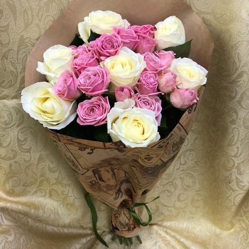 Букет из роз Дуэт