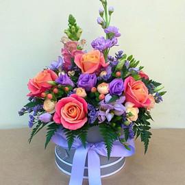 Цветы в коробке Аэлита
