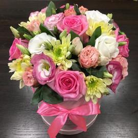 Цветы в коробке 18